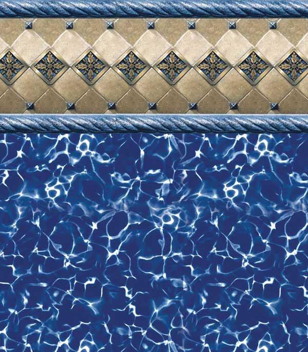 Inground Vinyl Liner Patterns Wonder Pool Company